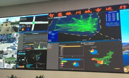The command center shows what's going on in the city