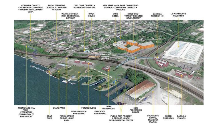 Emerging technology hub Hudson, NY wins $10 Million grant for riverfront revitalization